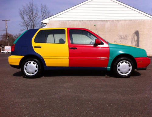 Taking A Deeper Look At VW's Quirky, Multi-Colored Harlequin